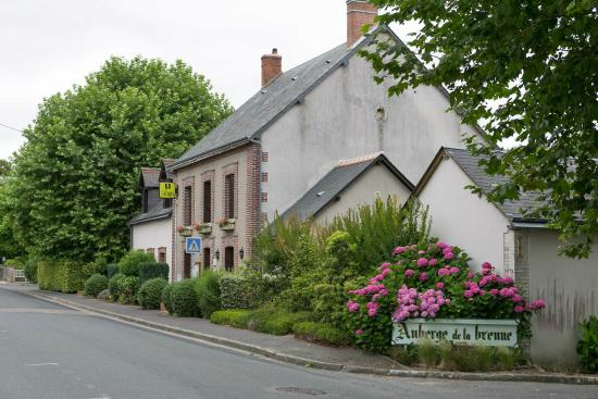 Restaurant Auberge de la Brenne: Restaurant = ancien Hôtel de la Gare