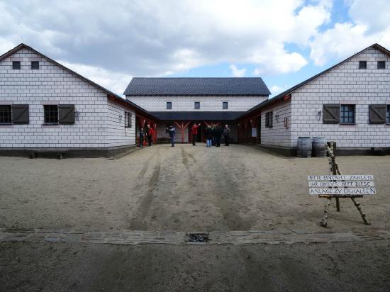 Poehl, Niemcy: Pohl, Blick hinter dem Tor