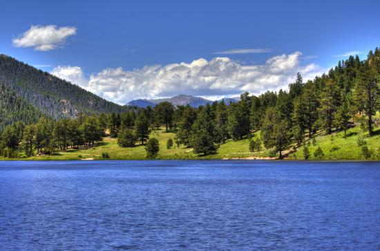 Peak to Peak Scenic Byway: lily lake estes park
