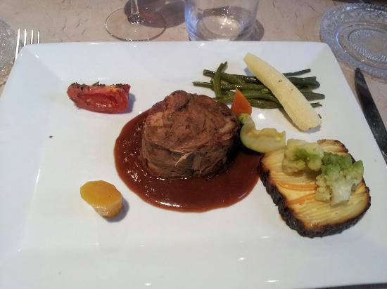 Les Airelles : Foie gras et agneau 7 heures