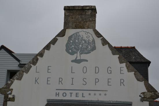 Hotel Le Lodge Kerisper : L'entrée