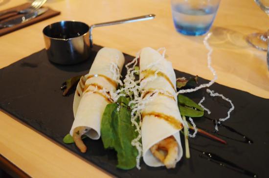vanilla pod: Vietnamese Fresh roll
