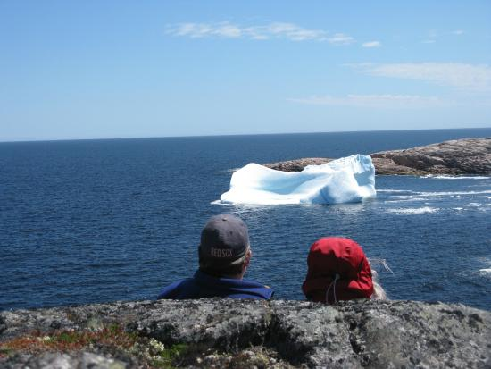 Mary's Harbour, Kanada: relaxing with personal iceberg