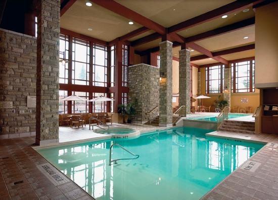 Indoor Pool Hot Tub Cedar Sauna Post Treatment Use Picture Of Five Lakes Spa Aveda Niagara Falls Tripadvisor