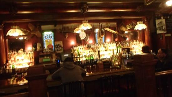 The Irish Lion Restaurant & Pub: The bar