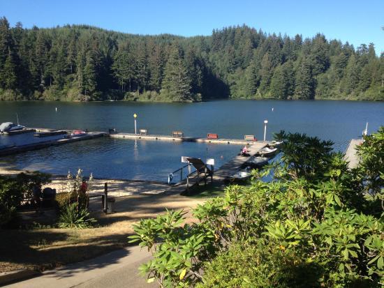 Mercer Lake Resort: Lake Mercer Resort from Cabin 9