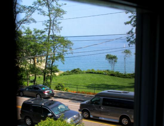 York Harbor, ME: View from room...