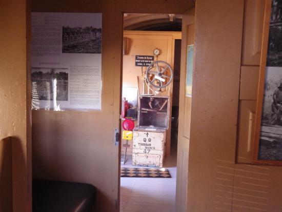 Bundaberg Railway Museum: Guard carriage