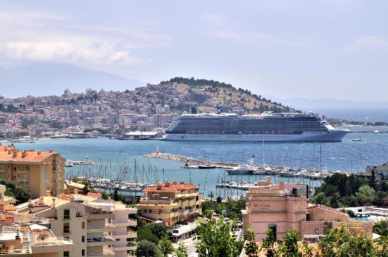 The port of Kusadasi - Picture of Ephesus Shuttle Day ...