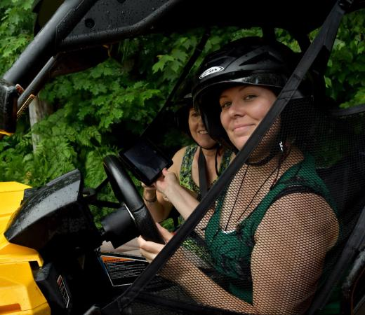 Camp Explora Electric ATV Adventures: On part!