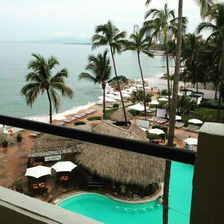 Plaza Pelicanos Grand Beach Resort: Vista desde mi habitacion
