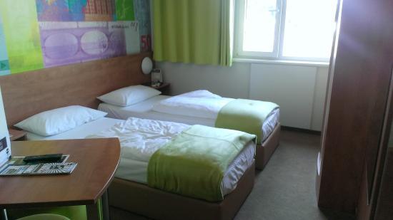 B&B Hotel Frankfurt City-Ost: Habitación