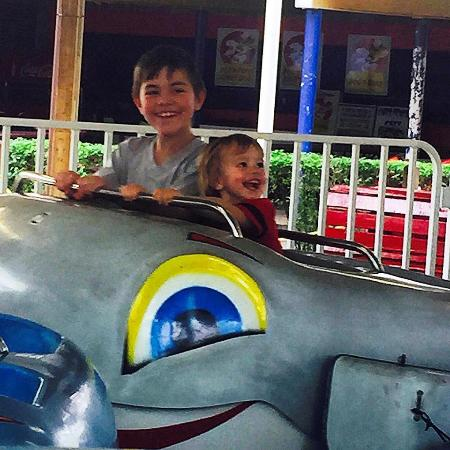 Monticello, IN: There are kiddie rides all the way up to roller coaster/thrill rides