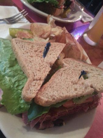Steiny's Pub: Corned beef and pastrami club