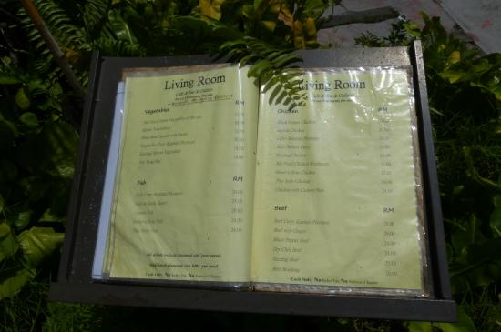 Living Room Cafe Bar U0026 Gallery: Living Room Cafe Bar   Menu