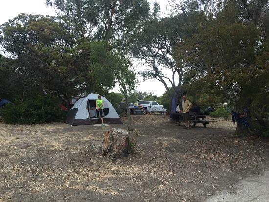 El Capitan State Beach Our Camping Spot