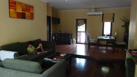 The Residence Hua Hin: ห้องนั่งเล่น