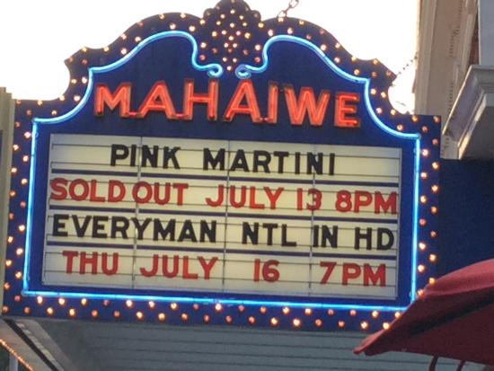Mahaiwe Performing Arts Center: marquee
