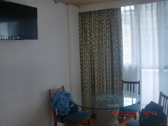 Hotel Palace: Sala de estar en la suite