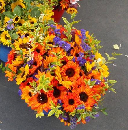 La Jolla Open Aire Market : Pretty Flowers