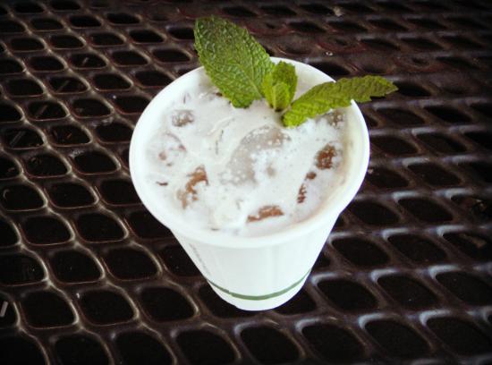 La Jolla Open Aire Market: Mojito Iced Coffee