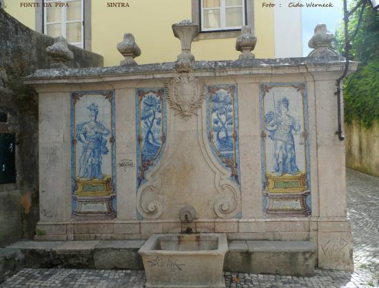 Sintra Municipality, Πορτογαλία: FONTE DA PIPA  -  SINTRA  -   PORTUGAL       Foto :  Cida  Werneck