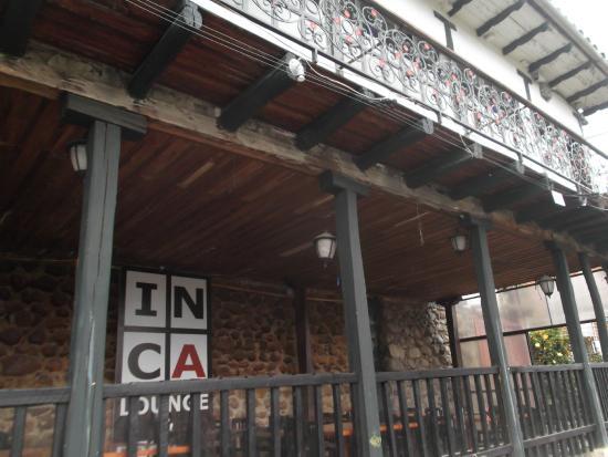 Inca Lounge and Bistro: Esta zona no se usa tanto...pero es chevere!!