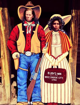 Bryce Canyon Western Town: Clowning Around in the Western Town