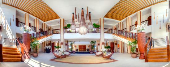 Daanbantayan, Filippinerna: Main Building Lobby panoramic view