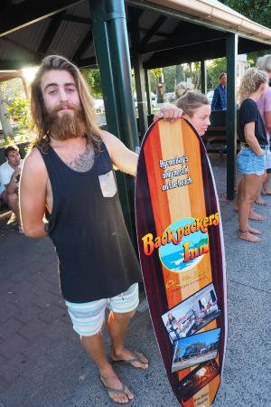 Backpackers Inn on the Beach at Byron Bay: Hipster Friendly