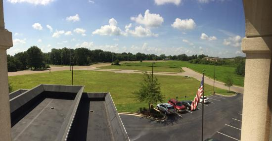 Hampton Inn & Suites Jackson : Our view from the fourth floor.