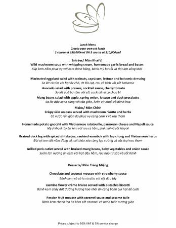 Pots 'n Pans: New business set lunch