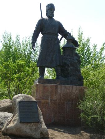 Statue of Pyotr Beketov