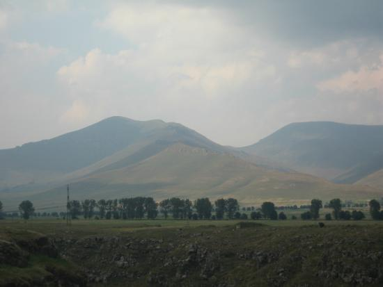 Stepanavan, Armenien: view from the castle ruins