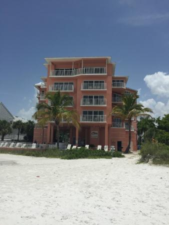 view from the beach  picture of edison beach house, fort myers, Beach House/