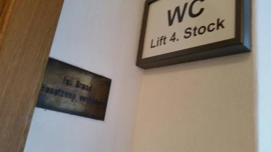 Hotel Wilder Mann: Dreck wo man hinschaut