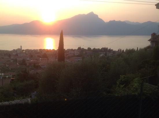 Sunset over Garda