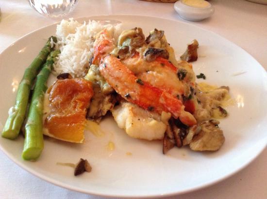 Jens' Restaurant: Alaskan cod