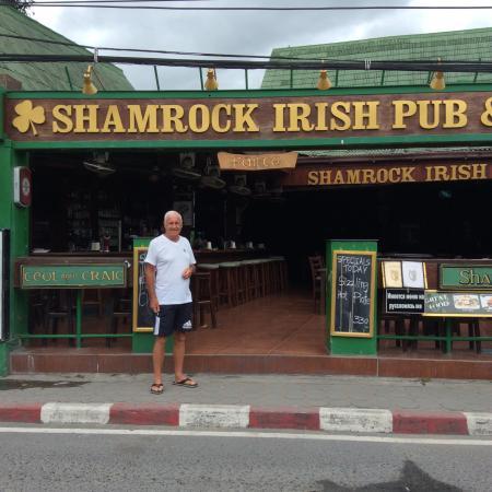 Samui Shamrock: Entrance to the Shamrock