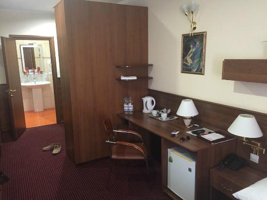 Forum Hotel: Работать за столом, одно удовольствие