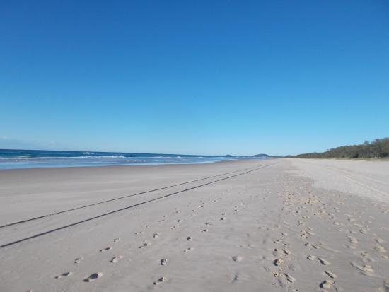 A short walk to a beautiful beach