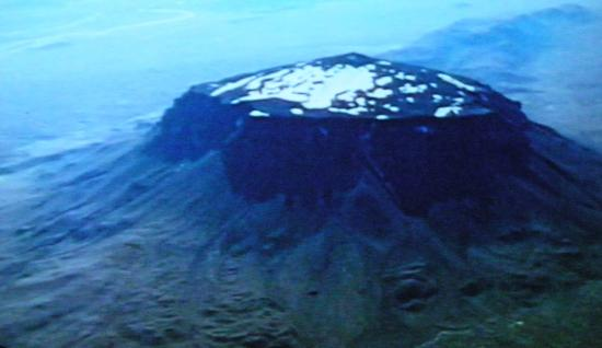 Red Rock Cinema - The Volcano Show: a still from the show
