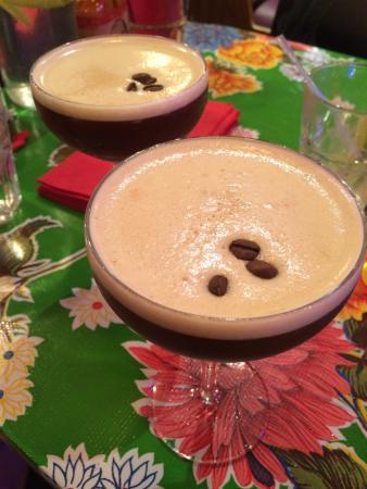 Espresso Martinis!
