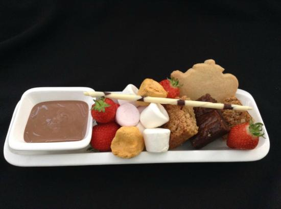The Chocolate Teapot: Signature dish - Chocolate Dipping Platter