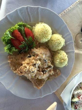 Hotel Dunav : Main meal