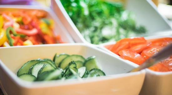 Hotel Helka: so green - your Breakfast Buffet