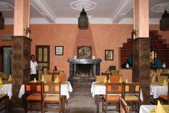 Kasbah Tizimi: Speisezimmer (Frühstück und Abendessen)