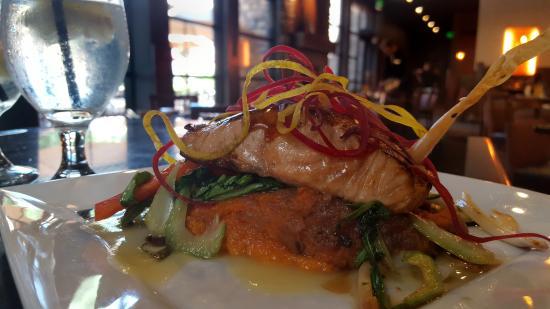 Elements Restaurant at Riverwoods : Kamikaze Salmon