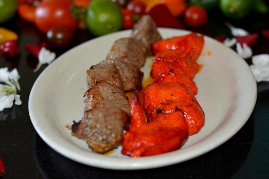 Danville, Californië: Chicken and Teka (Steak) Kabob
