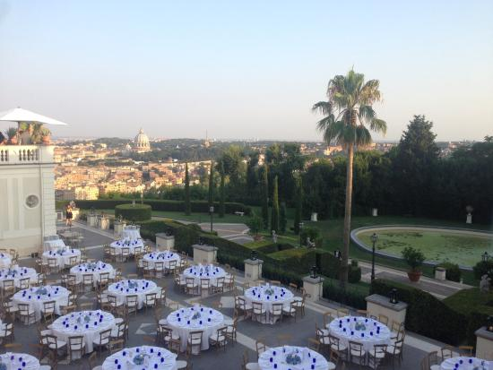 Cena In Terrazza Picture Of Villa Miani Rome Tripadvisor